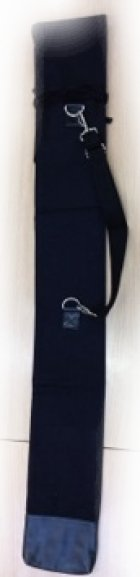 他の写真2: くまモン竹刀袋 パターンB 8号帆布 ショルダーベルト付、お守りストラップ付け用チ皮付