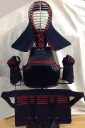 興武6mm刺 少年用 防具一式 赤飾り/紺飾り/紫飾り