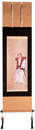 宮本武蔵肖像 掛軸