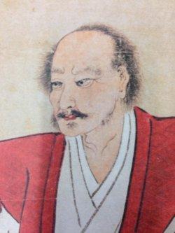 宮本武蔵肖像拡大