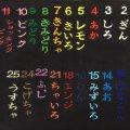 2.5cm角(中サイズ) ネーム刺繍 普通色