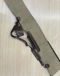 画像3: 新真剣袋 居合刀袋、鍵付き、現品限り訳あり大特価品、天然皮ボルボ、別注品