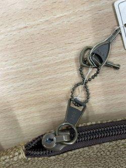 画像4: 新真剣袋 居合刀袋、鍵付き、現品限り訳あり大特価品、天然皮ボルボ、別注品