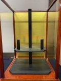 ガラスケース(源武堂オリジナルミニ剣道防具用)+ミニ防具掛け台